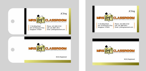 Mrs Eng's Classroom Business Cards and Stationery  Draft # 65 by tikiri