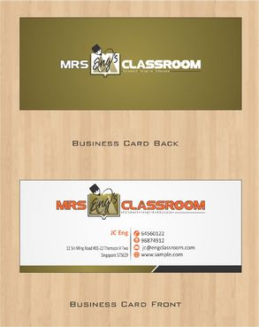 Mrs Eng's Classroom Business Cards and Stationery  Draft # 76 by Deck86