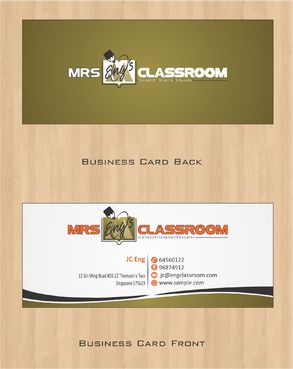 Mrs Eng's Classroom Business Cards and Stationery  Draft # 78 by Deck86