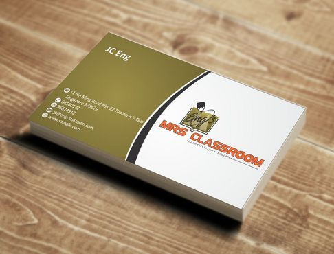 Mrs Eng's Classroom Business Cards and Stationery  Draft # 84 by Deck86