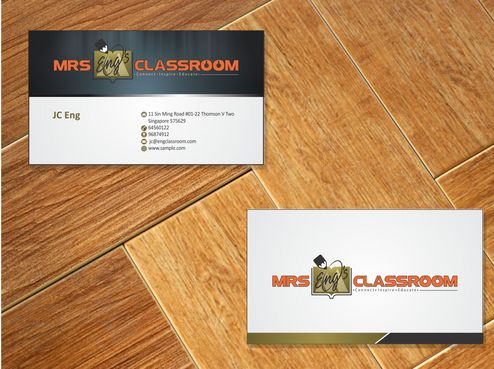 Mrs Eng's Classroom Business Cards and Stationery  Draft # 94 by Deck86