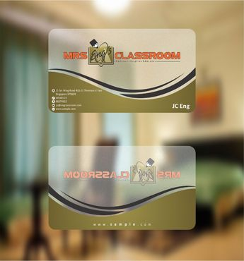 Mrs Eng's Classroom Business Cards and Stationery  Draft # 95 by Deck86