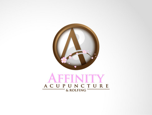 Affinity Acupuncture & Rolfing (& Rolfing is secondary, smaller print and perhaps abstract)