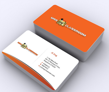 Mrs Eng's Classroom Business Cards and Stationery  Draft # 146 by ArtworksKingdom