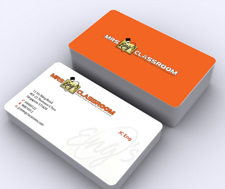 Mrs Eng's Classroom Business Cards and Stationery  Draft # 147 by ArtworksKingdom