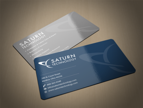 Elegant Business Cards Business Cards and Stationery  Draft # 72 by einsanimation