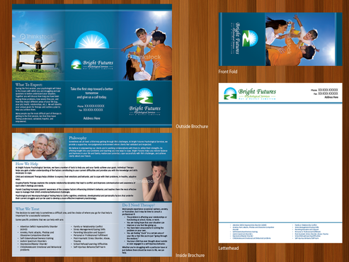 Bright Futures Psychological Services Marketing collateral  Draft # 2 by monski