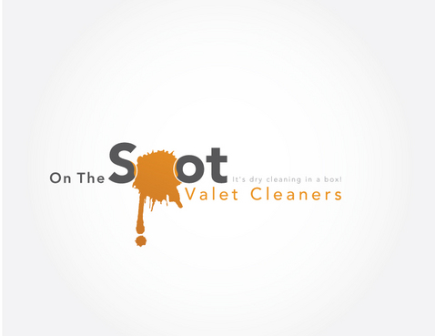 On The Spot Valet Cleaners A Logo, Monogram, or Icon  Draft # 18 by markholmesidesign