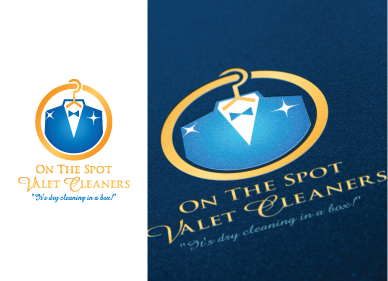 On The Spot Valet Cleaners A Logo, Monogram, or Icon  Draft # 41 by inidisain