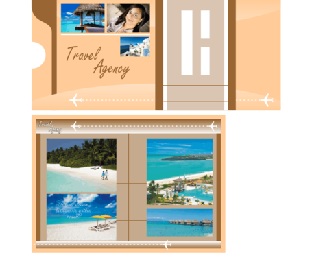 travel agency Marketing collateral  Draft # 5 by rakeldesign