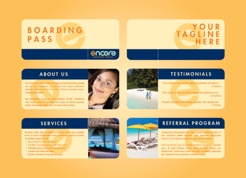 travel agency Marketing collateral  Draft # 7 by DXCUCR