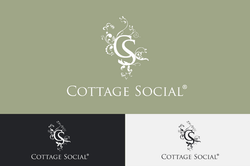 "Designs that incorporate full name ""Cottage Social and/or variations that include ""CS"""