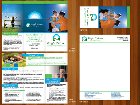 Bright Futures Psychological Services Marketing collateral  Draft # 7 by monski