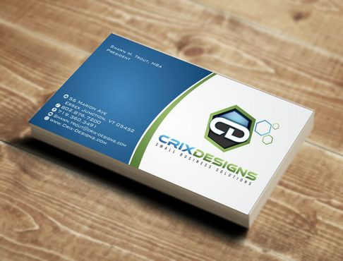 Crix Designs Business Cards and Stationery  Draft # 135 by Deck86