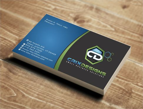 Crix Designs Business Cards and Stationery  Draft # 136 by Deck86