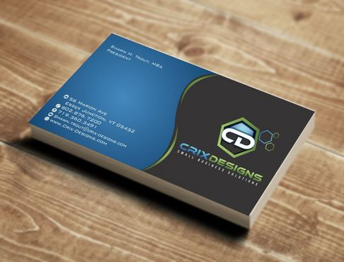 Crix Designs Business Cards and Stationery  Draft # 142 by Deck86