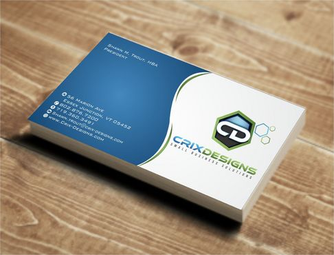 Crix Designs Business Cards and Stationery  Draft # 141 by Deck86