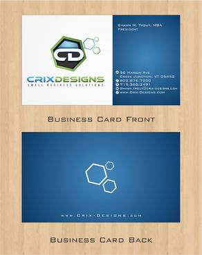 Crix Designs Business Cards and Stationery  Draft # 143 by Deck86