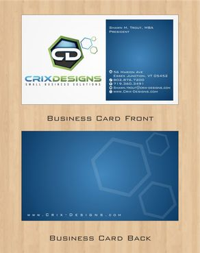 Crix Designs Business Cards and Stationery  Draft # 145 by Deck86