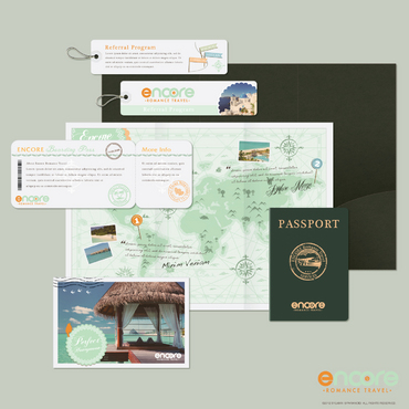 travel agency Marketing collateral  Draft # 11 by sylvian