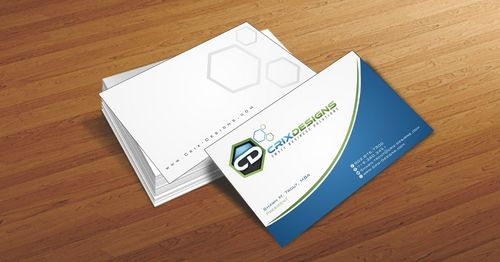 Crix Designs Business Cards and Stationery  Draft # 210 by Deck86