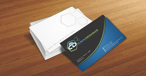 Crix Designs Business Cards and Stationery  Draft # 211 by Deck86