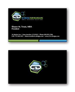 Crix Designs Business Cards and Stationery  Draft # 213 by cinco