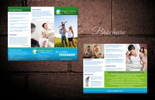 Bright Futures Psychological Services Marketing collateral  Draft # 21 by dotscoms