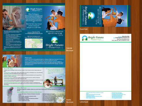 Bright Futures Psychological Services Marketing collateral  Draft # 25 by monski