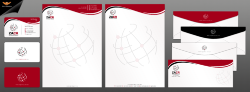 Letterheads and business card designs