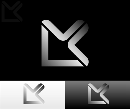 "the letters ""LMK"" A Logo, Monogram, or Icon  Draft # 10 by HerryReggaestrix"
