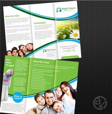 Bright Futures Psychological Services Marketing collateral  Draft # 48 by akreationz