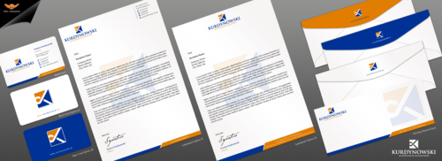 Business card, letterhead, envelopes - Kurdynowski Accounting & Tax Solutions