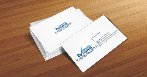 Macro Building Solutions Business Cards and Stationery  Draft # 54 by Deck86
