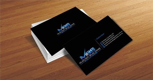 Macro Building Solutions Business Cards and Stationery  Draft # 56 by Deck86