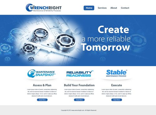 WRENCHRIGHT Complete Web Design Solution  Draft # 54 by aayanraza