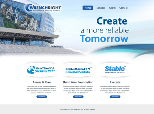 WRENCHRIGHT Complete Web Design Solution  Draft # 55 by aayanraza