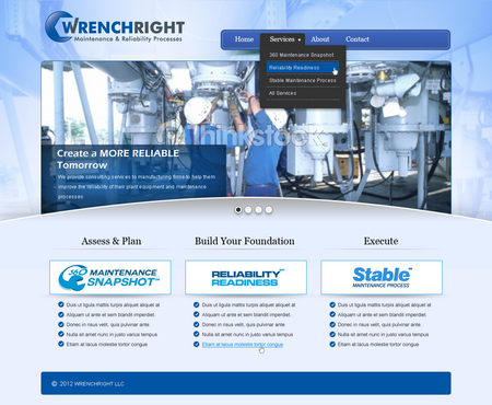 WRENCHRIGHT Complete Web Design Solution  Draft # 101 by mbmkdesigns