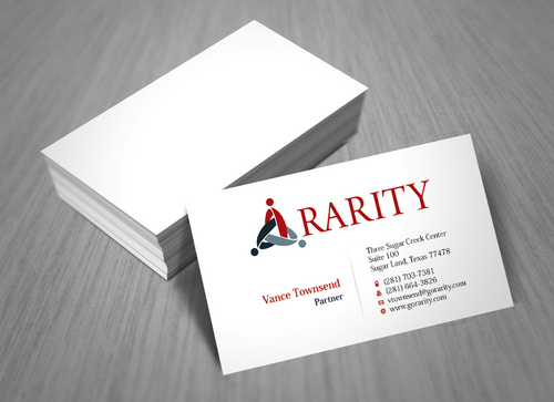 Rarity Solutions Business Cards and Stationery  Draft # 4 by ArtworksKingdom
