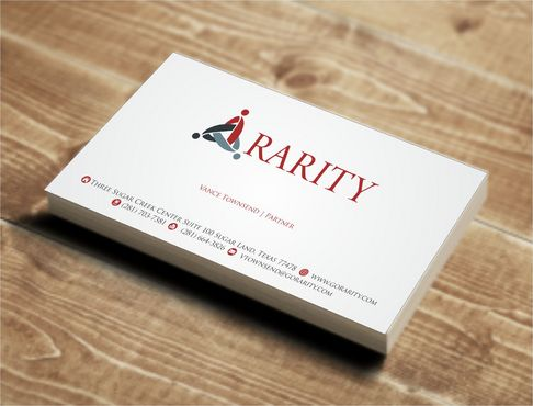 Rarity Solutions Business Cards and Stationery  Draft # 140 by Deck86