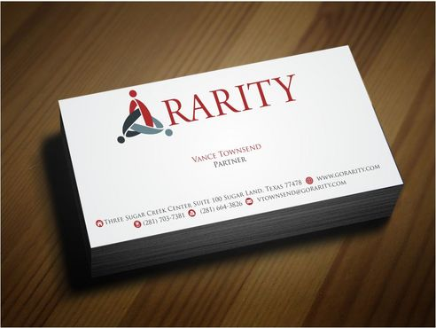 Rarity Solutions Business Cards and Stationery  Draft # 158 by Deck86