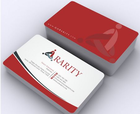 Rarity Solutions Business Cards and Stationery  Draft # 165 by Deck86