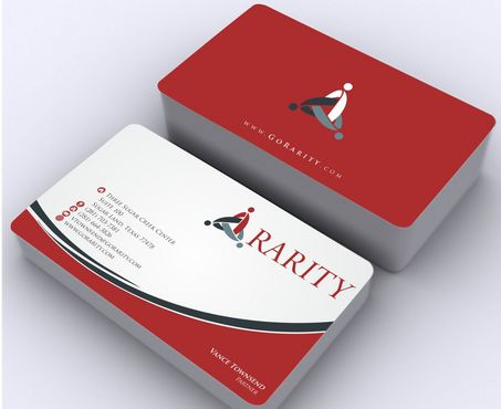 Rarity Solutions Business Cards and Stationery  Draft # 167 by Deck86