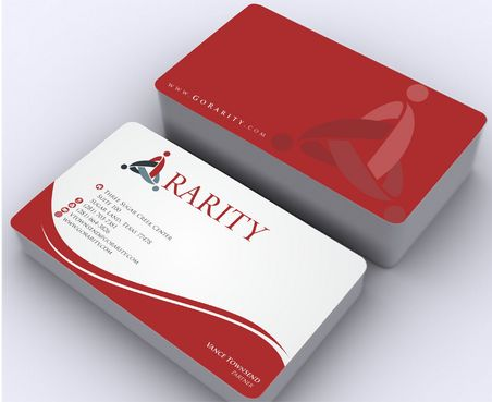 Rarity Solutions Business Cards and Stationery  Draft # 168 by Deck86