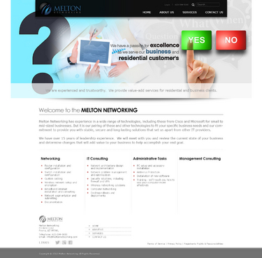 Melton Networking Complete Web Design Solution  Draft # 3 by timefortheweb