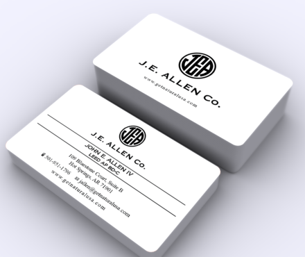 J.E. Allen Company Business Cards and Stationery  Draft # 424 by ArtworksKingdom