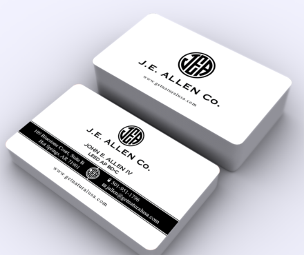J.E. Allen Company Business Cards and Stationery  Draft # 426 by ArtworksKingdom