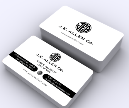 J.E. Allen Company Business Cards and Stationery  Draft # 427 by ArtworksKingdom