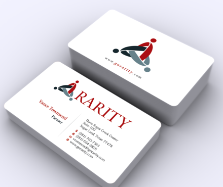 Rarity Solutions Business Cards and Stationery  Draft # 170 by ArtworksKingdom