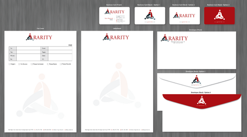 Rarity Solutions Business Cards and Stationery  Draft # 171 by ArtworksKingdom